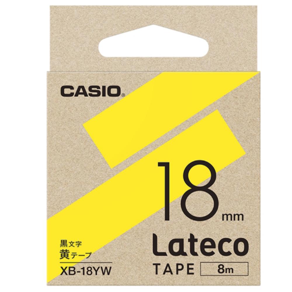 ラテコテープ XB−18YW イエロー