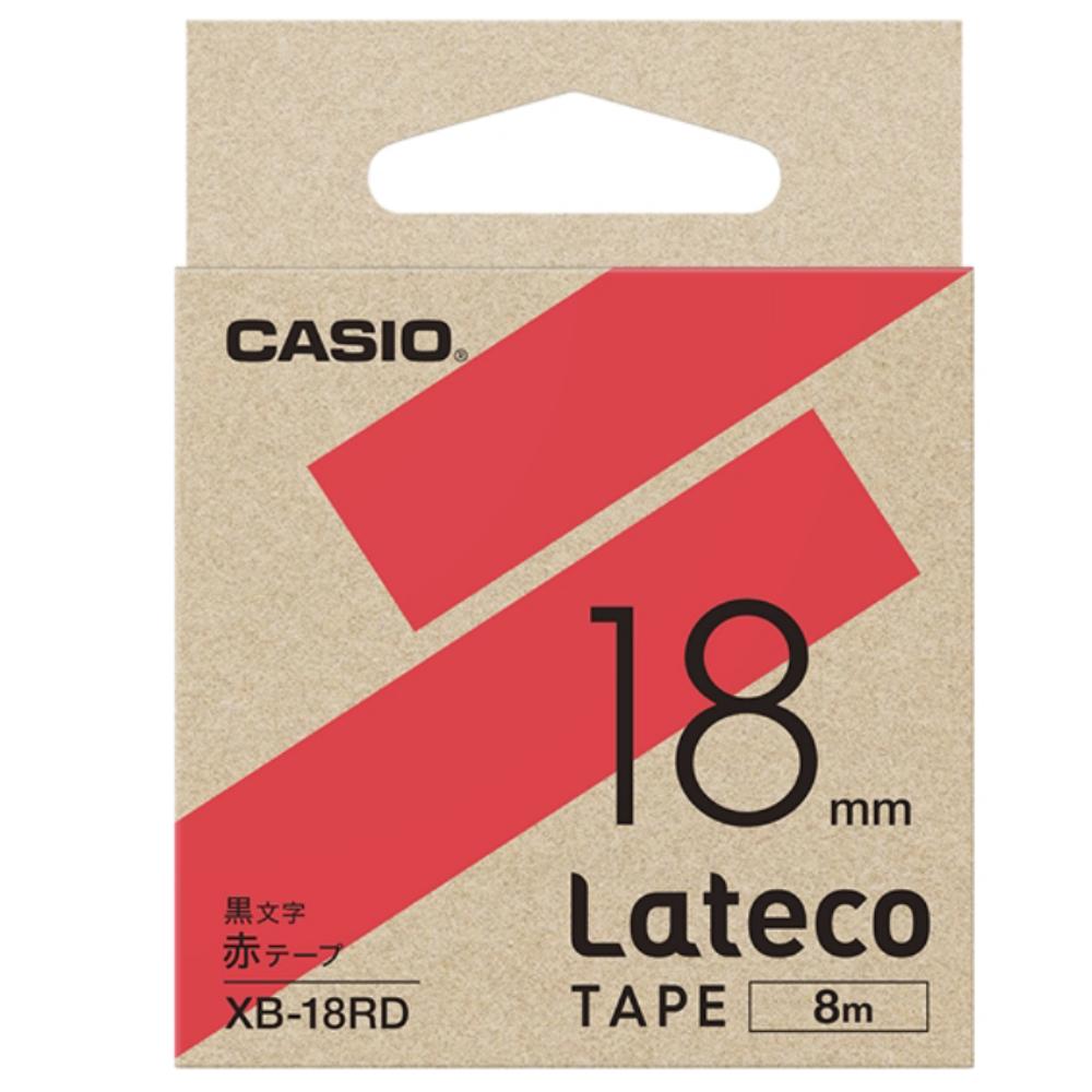 ラテコテープ XB−18RD レッド