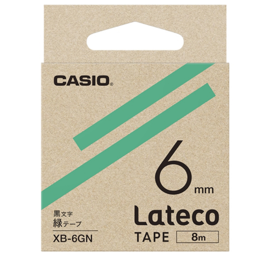 ラテコテープ XB−6GN グリーン
