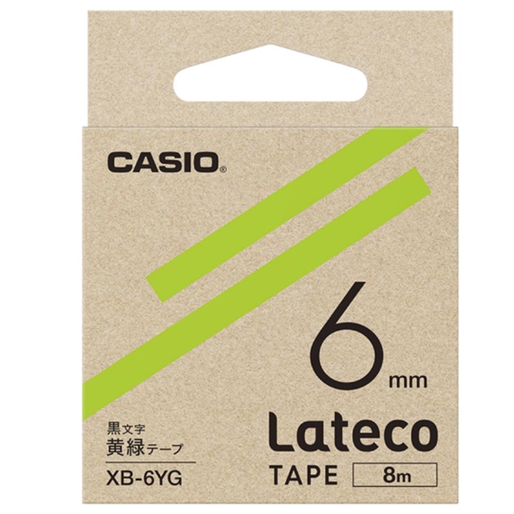 ラテコテープ XB−6YG ライトグリーン