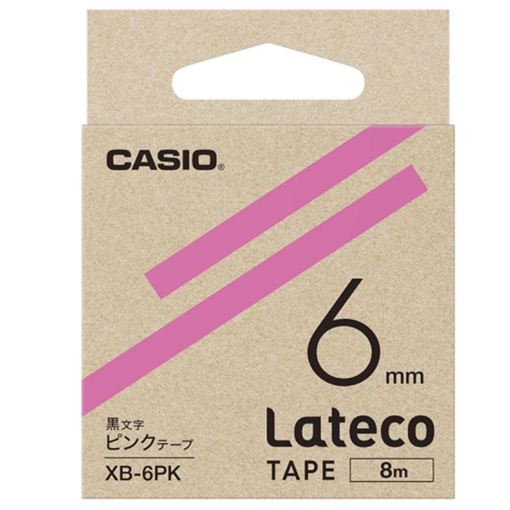 ラテコテープ XB−6PK ピンク