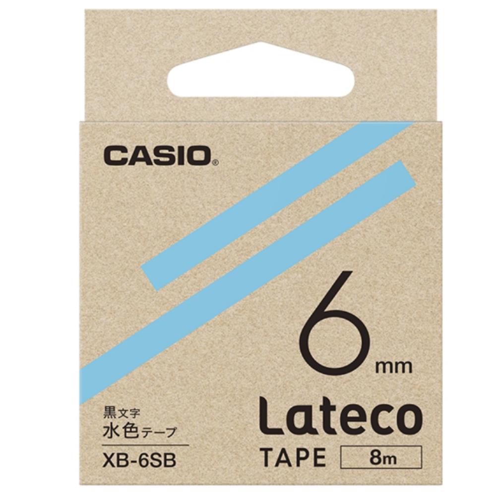 ラテコテープ XB−6SB ライトブルー