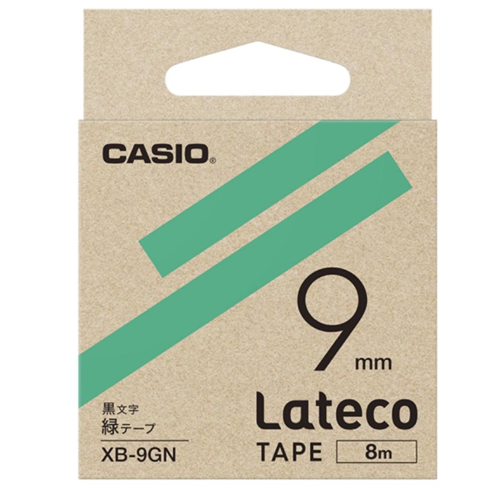 ラテコテープ XB−9GN グリーン