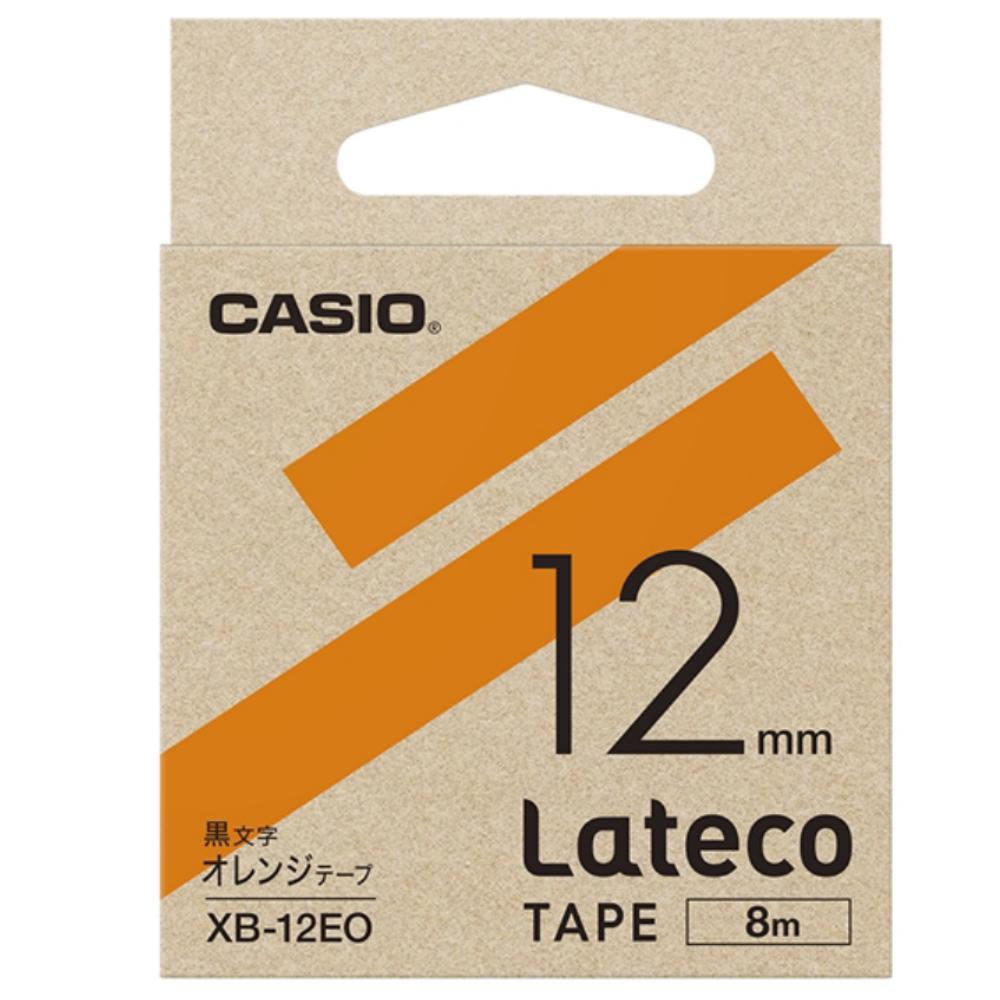 ラテコテープ XB−12EO オレンジ