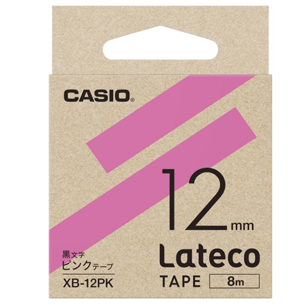 ラテコテープ XB−12PK ピンク