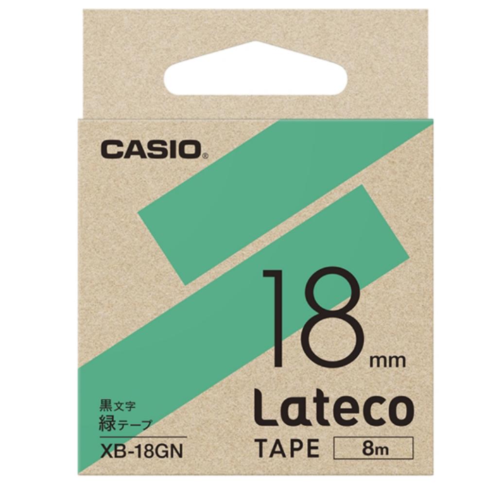 ラテコテープ XB−18GN グリーン