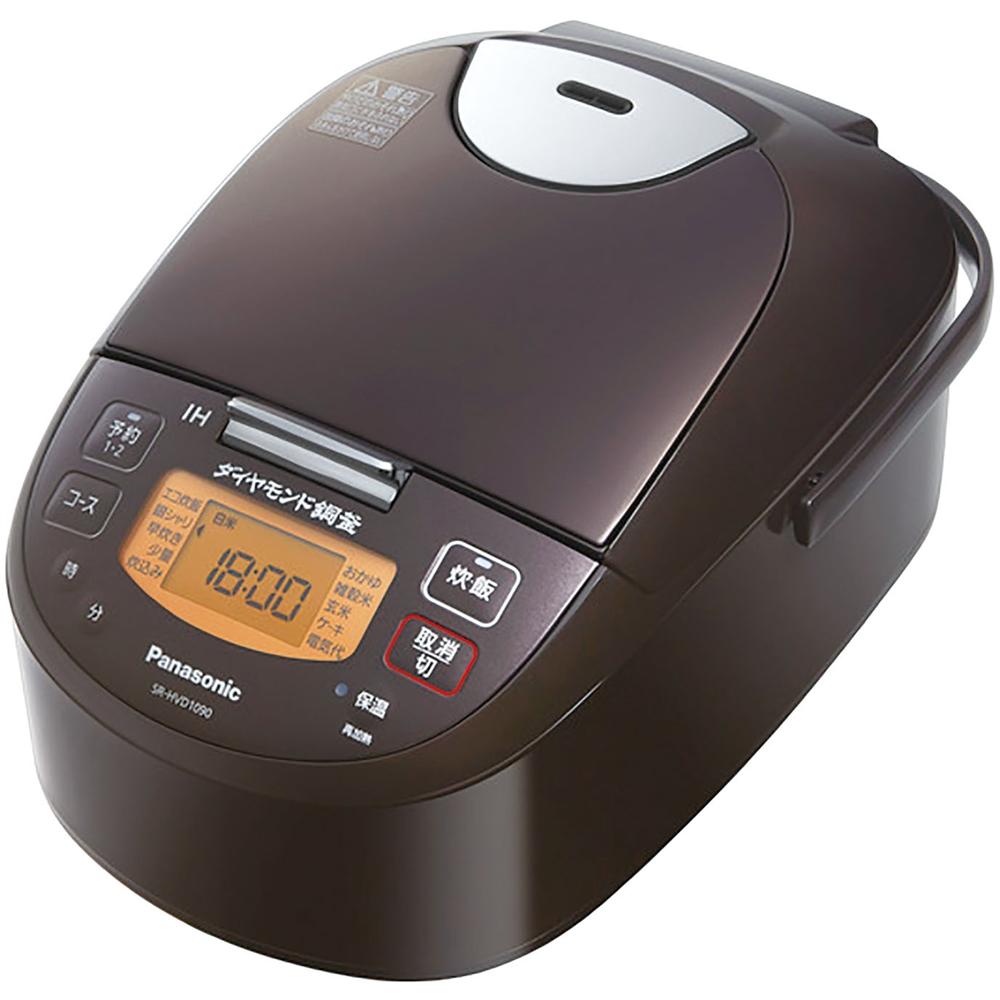 パナソニック(Panasonic) IH炊飯器 5.5合 SR−HVD1090−T