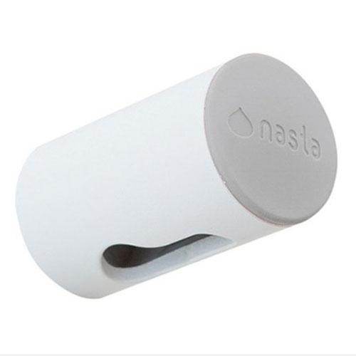ナスタ(NASTA) 屋内物干AirDot(エアドット) 壁面下地取付用 KS−NRP022−WGRホワイト×グレー 本体:奥行5cm 本体:高さ3cm 本体:幅3cmバインドタッピンねじ1本付