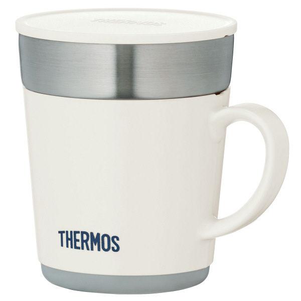 サーモス(THERMOS) 保温マグカップJDCー241 WH