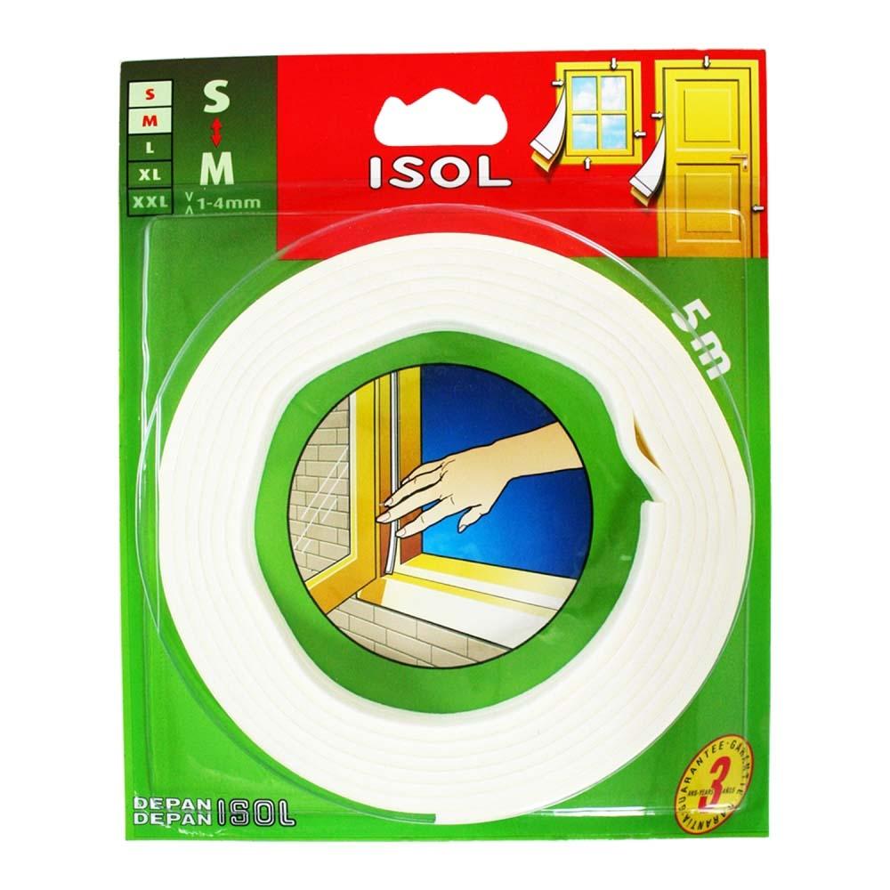 すきま風防止テープ S ホワイト 2.5m 2本 BE1154E-9000HC