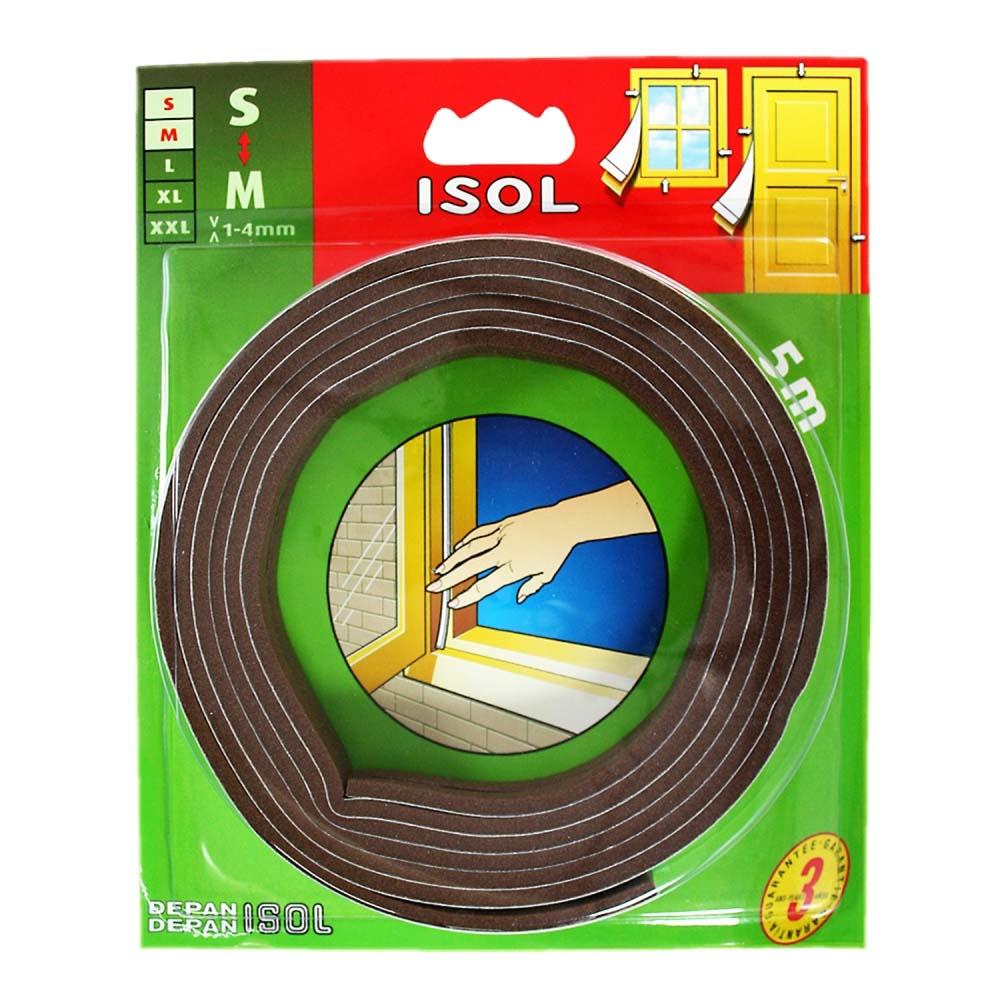 すきま風防止テープ S ブラウン 2.5m 2本 BE1154E-9001HC