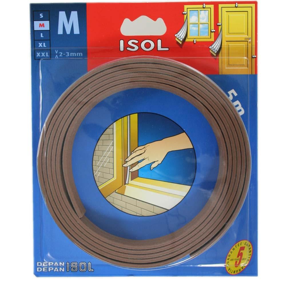 すきま風防止テープ M ブラウン 2.5m 2本 BE1158E-9001HC