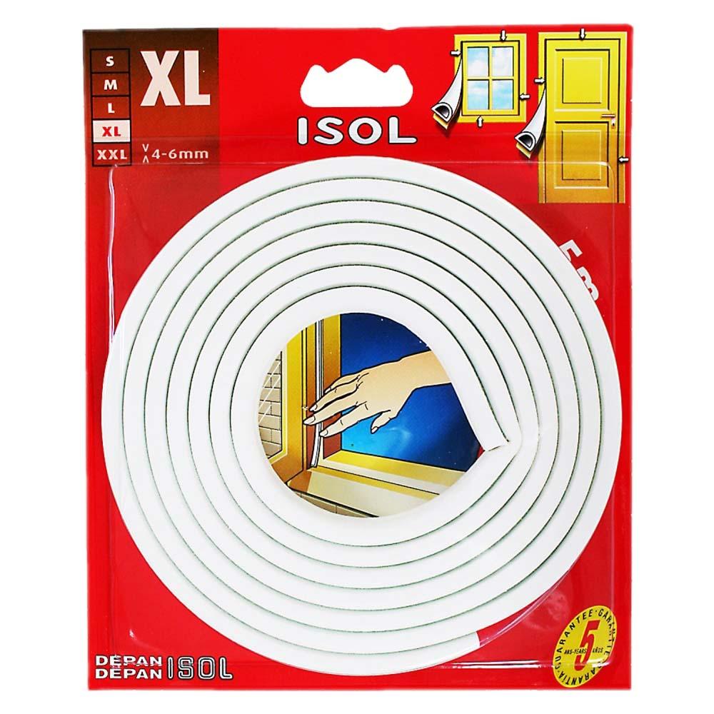 すきま風防止テープ XL ホワイト 2.5m 2本 BE1160E-9000HC