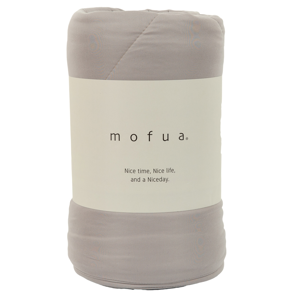 mofua 雲につつまれるような やわらかケット シングル グレージュ 312001N8-S-GRG