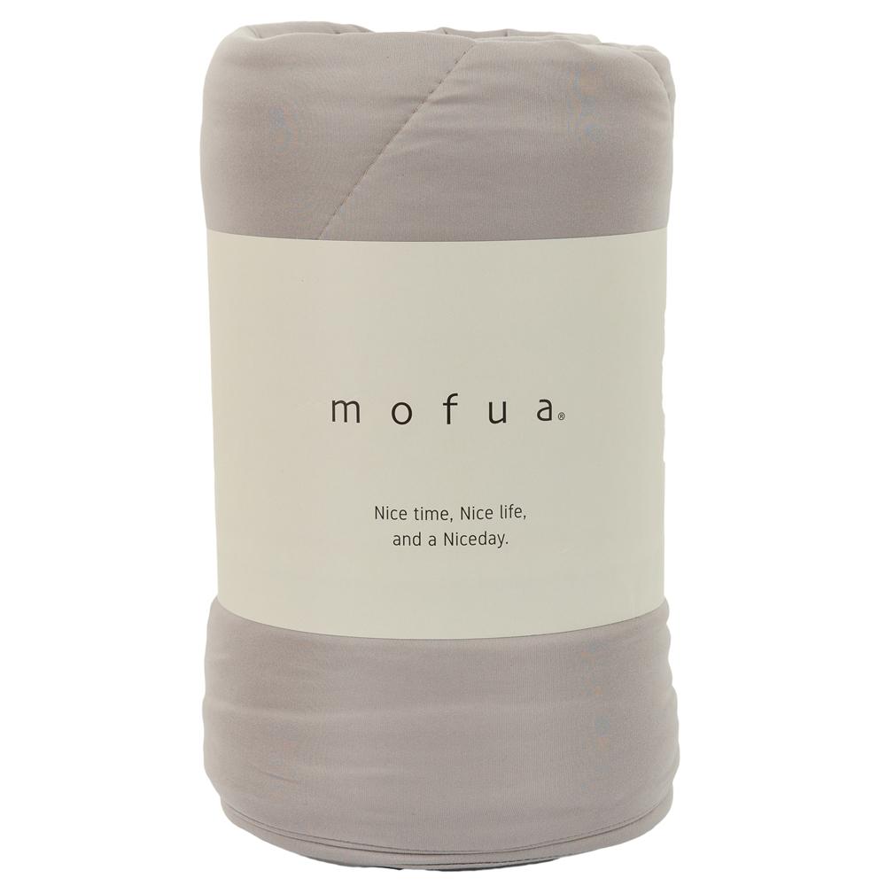 mofua 雲につつまれるような やわらかケット ダブル グレージュ 312003N8-D-GRG