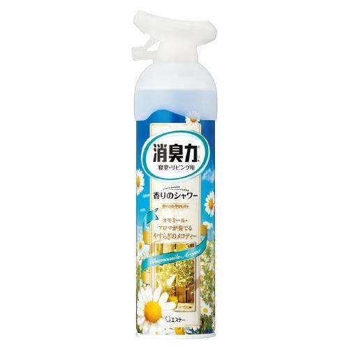 お部屋の消臭力 香りのシャワー 寝室用 アロマカモミールの香り 280ml