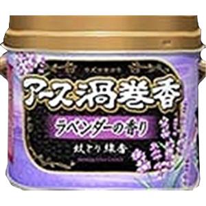 アース渦巻香ラベンダーの香り 30巻缶