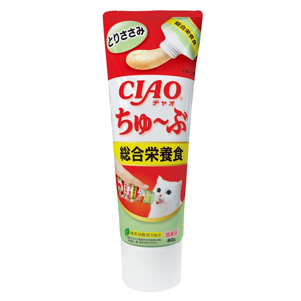 チャオ ちゅ〜ぶ 総合栄養食とりささみ 80g