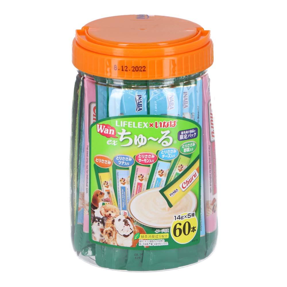 コーナン オリジナル LIFELEX EXWanちゅーる14g×60本