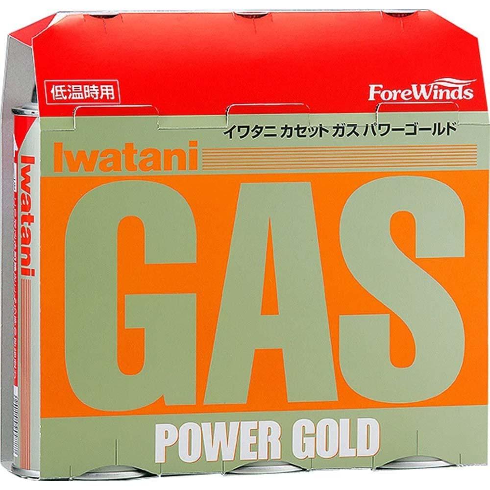 イワタニ(Iwatani) カセットガス パワーゴールド3P CB-250-3PG