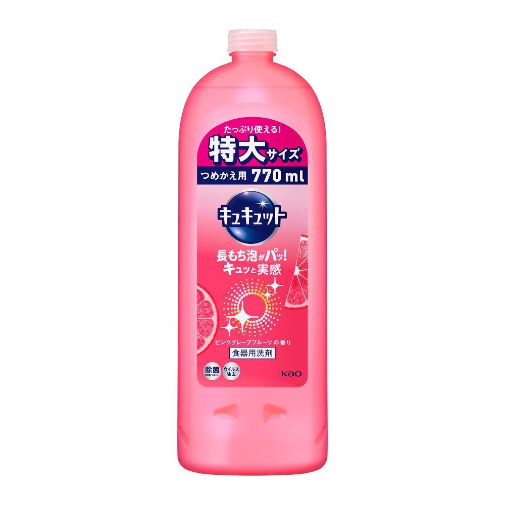 花王 キュキュット ピンクグレープフルーツの香り [つめかえ用 770ml]