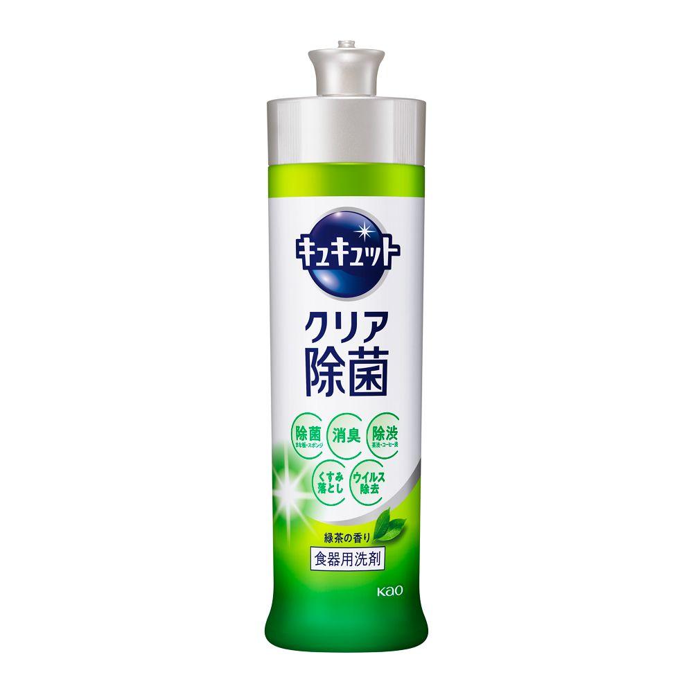 花王 キュキュット クリア除菌 緑茶の香り 【本体 240ml】