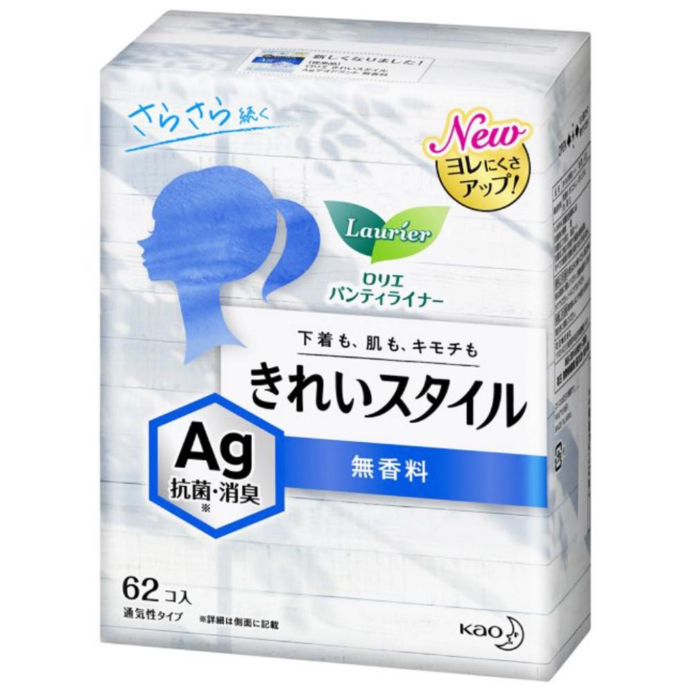 花王 ロリエ きれいスタイル Ag 無香料 [62コ入]