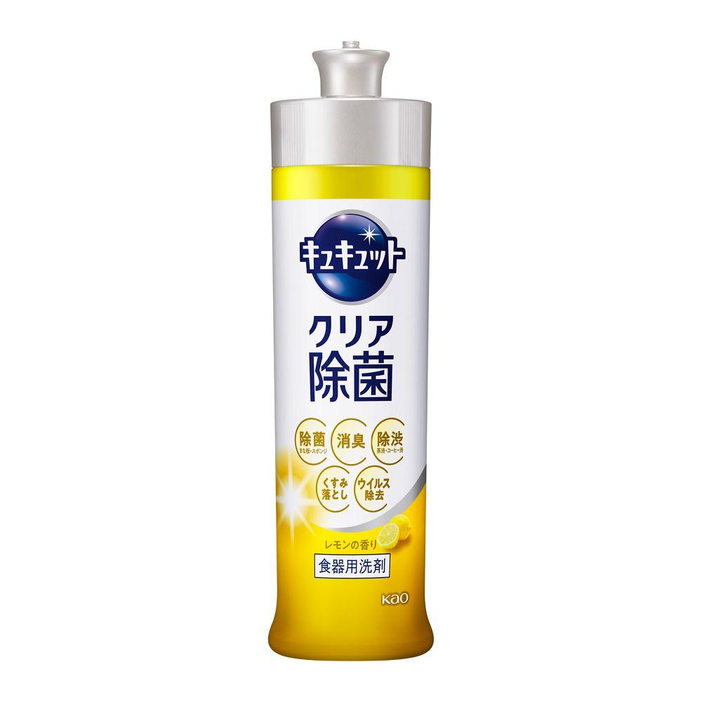 花王 キュキュット クリア除菌 レモンの香り 【本体 240ml】