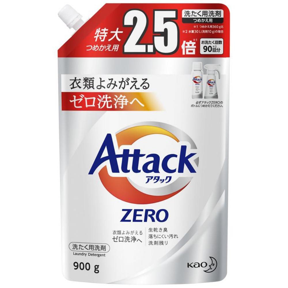 花王 アタックZERO [つめかえ用 900g]