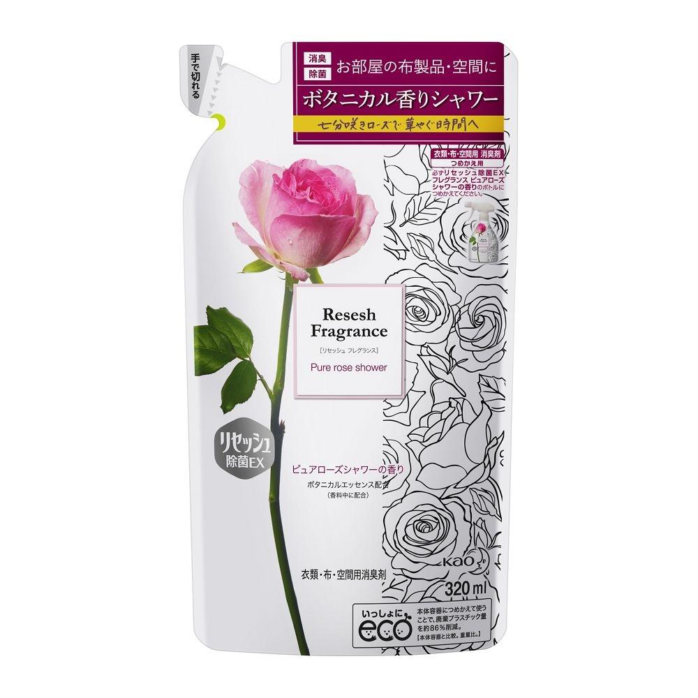 花王 リセッシュ 除菌EX フレグランス ピュアローズシャワーの香り [つめかえ用]
