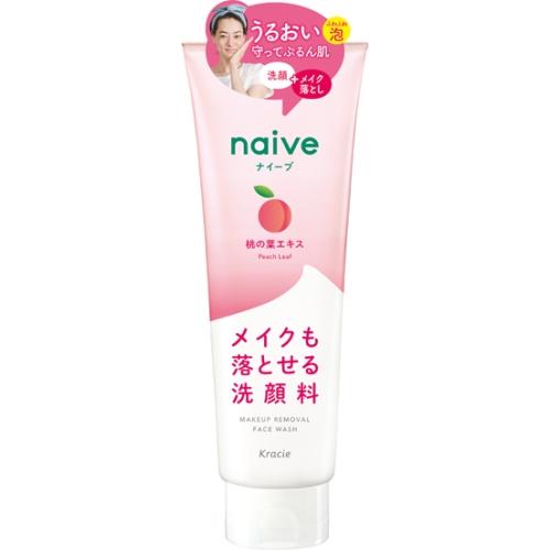 ナイーブ メイク落とし洗顔フォーム(桃の葉)200g
