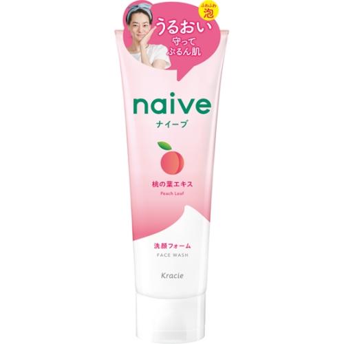 ナイーブ 洗顔フォーム(桃の葉)130g