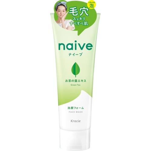 ナイーブ 洗顔フォーム(お茶の葉)130g
