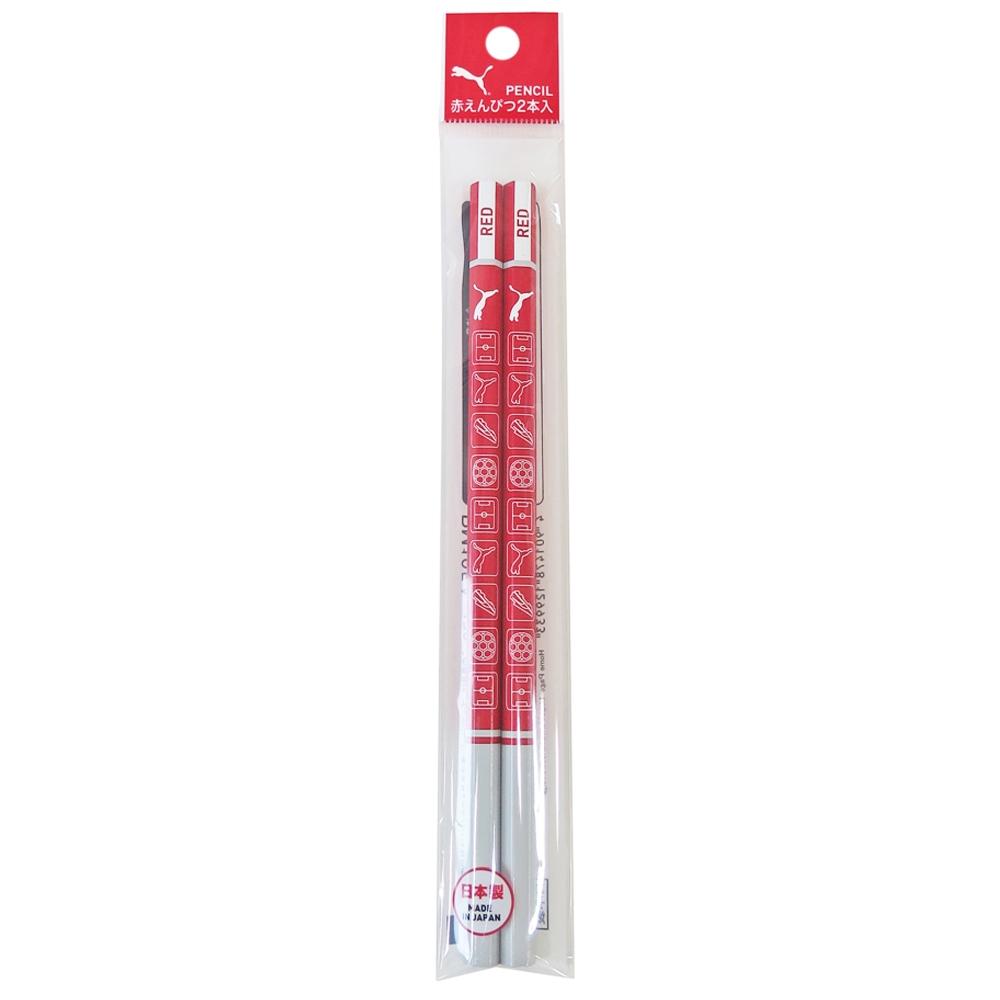 赤鉛筆2本入 PM105