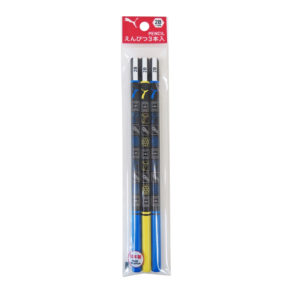 2B鉛筆3本入 PM204