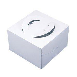 貝印 ケーキBOX 21cm DL6343 ホワイト