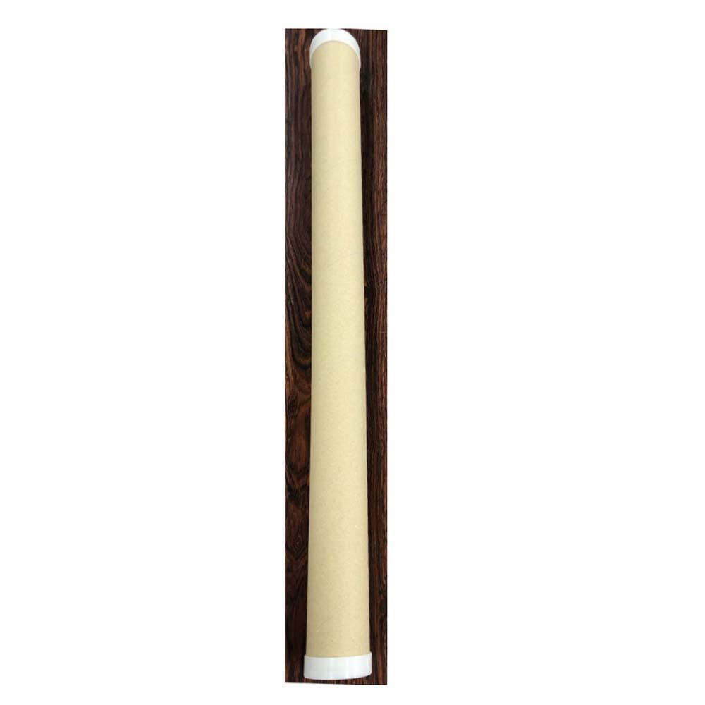 シモジマ クラフトパック蓋つき50.8×650mm 茶 内寸直径50.8×650mm