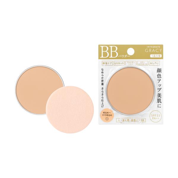 インテグレート グレイシィエッセンスパウダーBB 1 明るめ〜自然な肌色(レフィル)