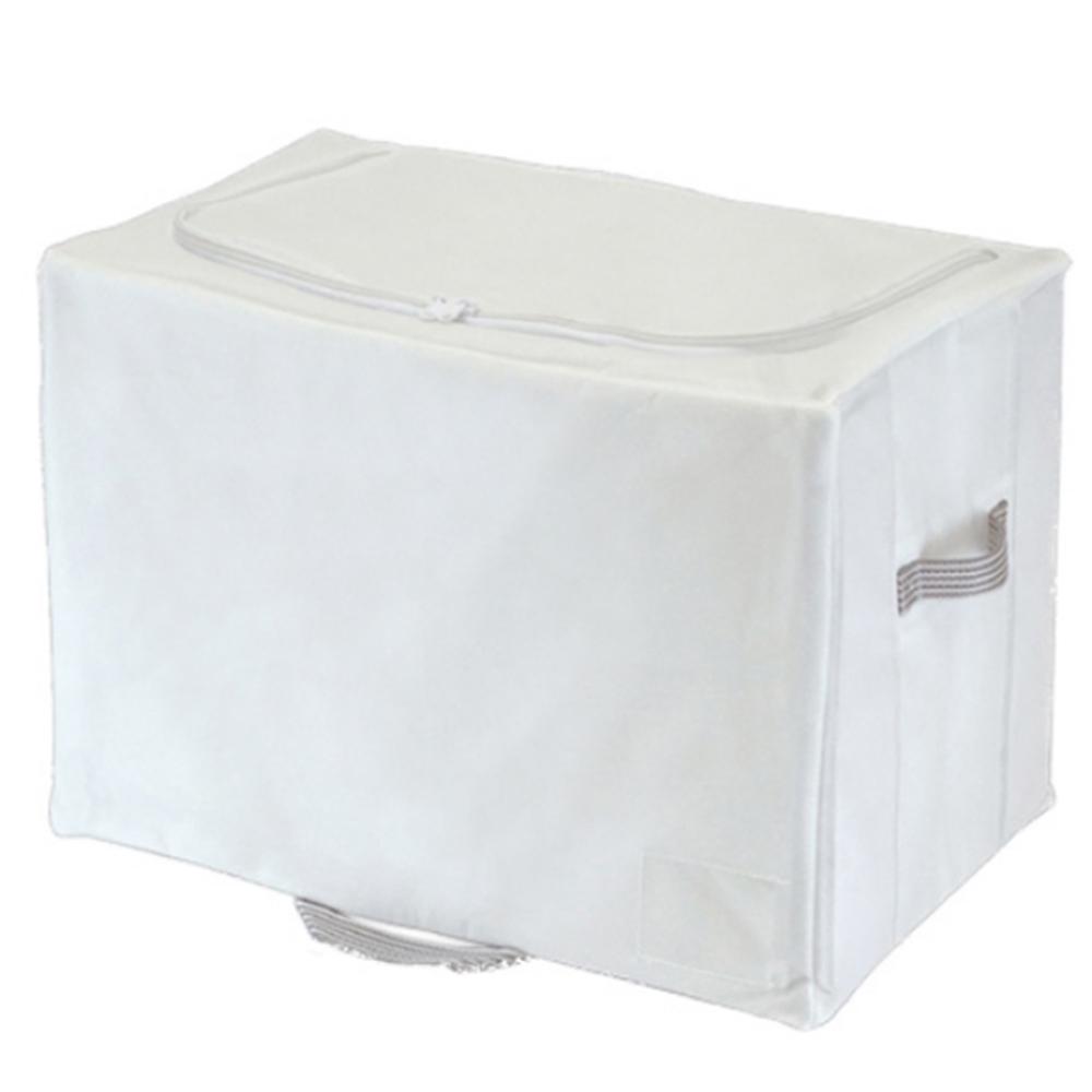 東和産業 布団収納袋 シングル 掛け布団用 幅50×奥行35×高さ36cm 棚上 クローゼット収納