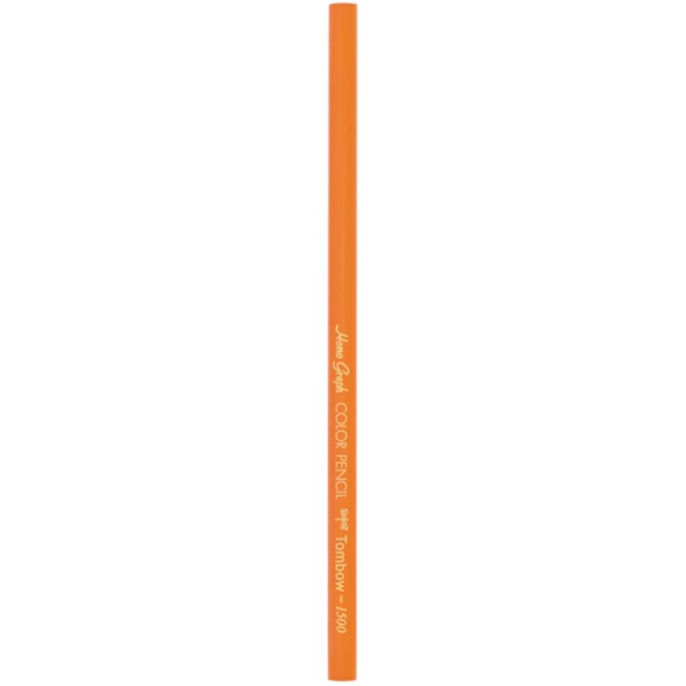 色鉛筆1500単色 橙 1500-28J