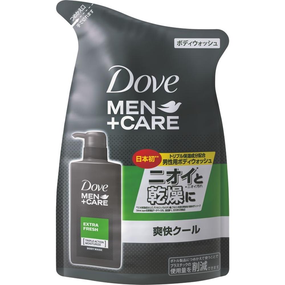 ダヴメン+ケアボディウォッシュエクストラフレッシュつめかえ用