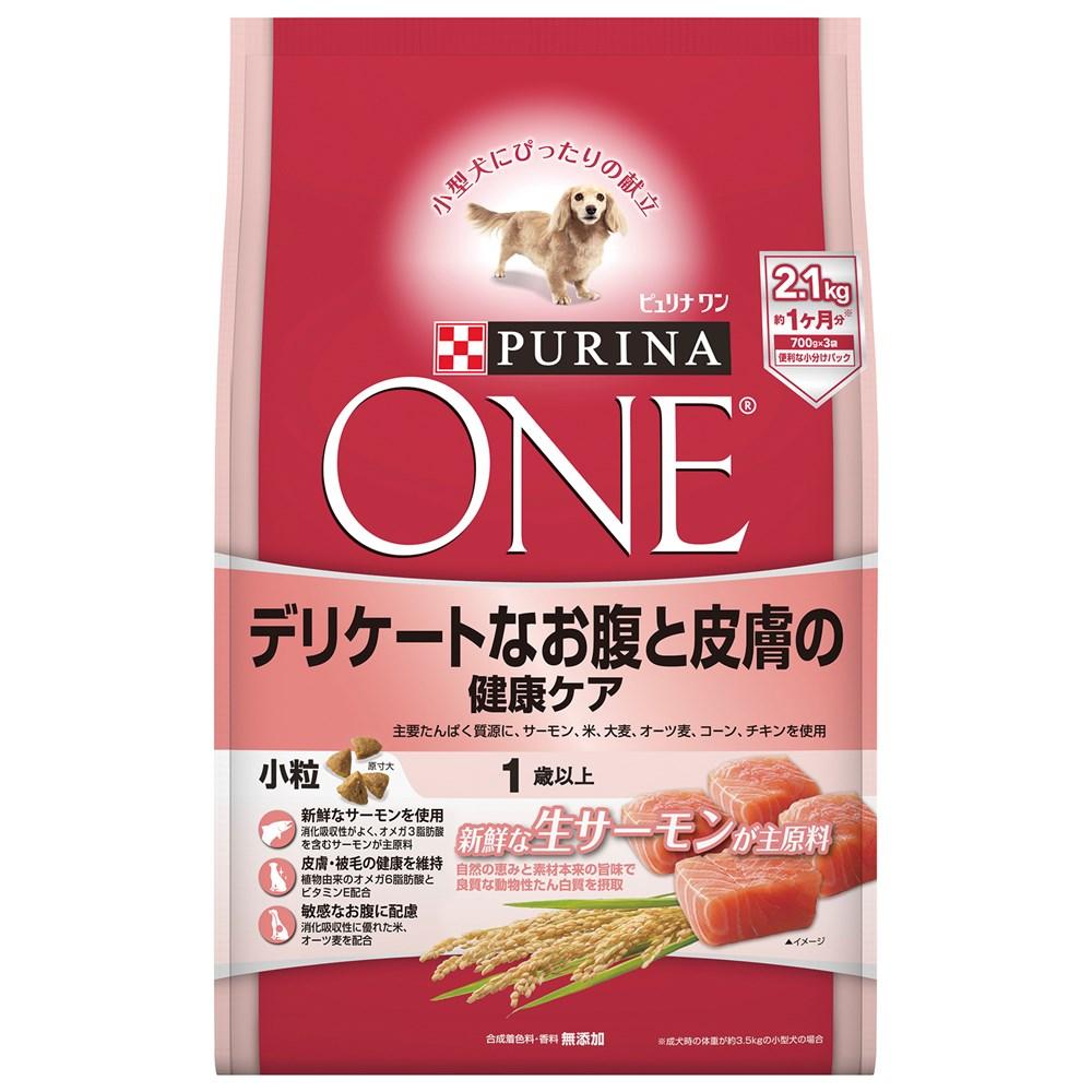 ピュリナワンDOG お腹と皮膚の健康ケア2.1kg