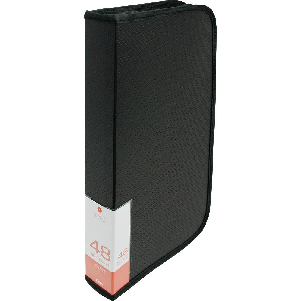 ナカバヤシ(Nakabayashi)  BD/DVD/CD用 ディスクケース 48 ブラック BD-080-48BK