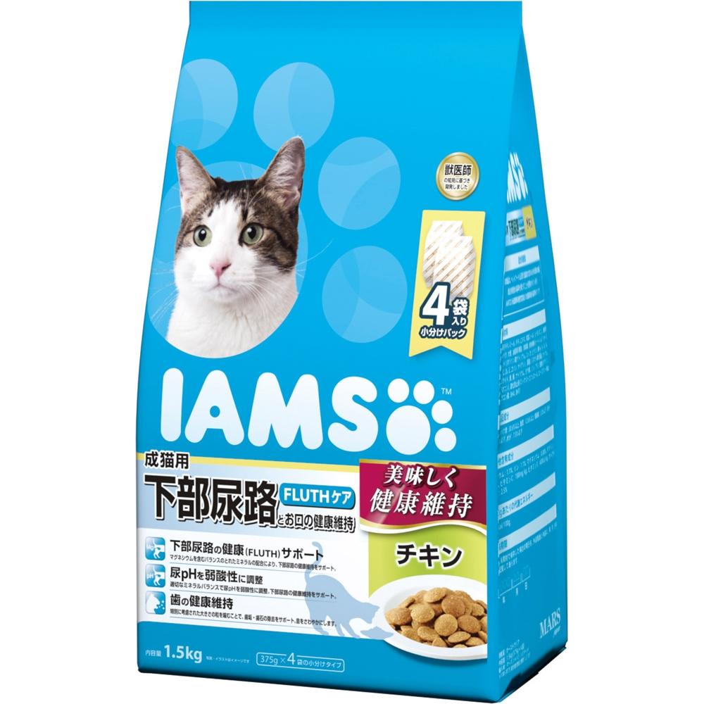 アイムス 成猫用 下部尿路とお口の健康維持 チキン 1.5kg