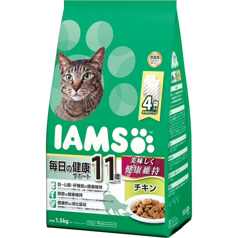 アイムス 11歳以上用 毎日の健康サポート チキン 1.5kg