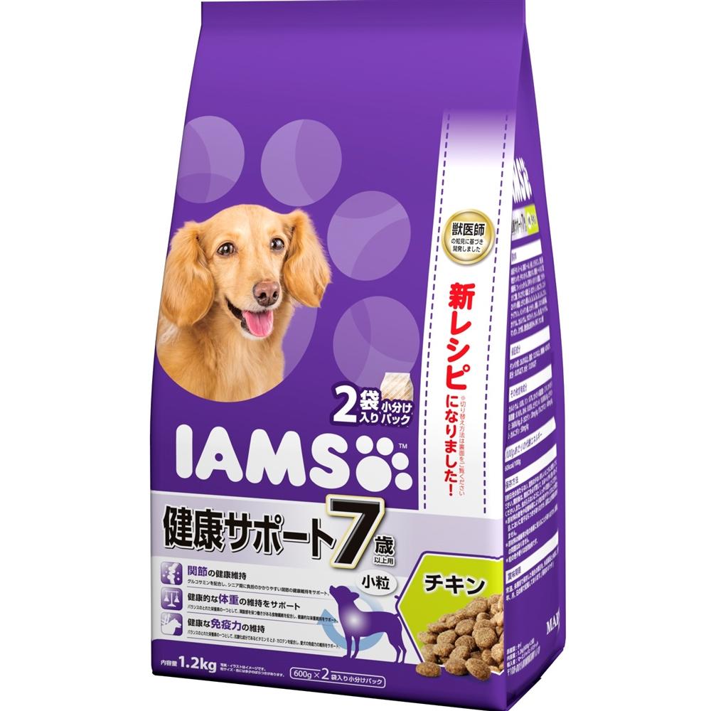 アイムス 7歳以上用 健康サポート チキン 小粒 1.2kg