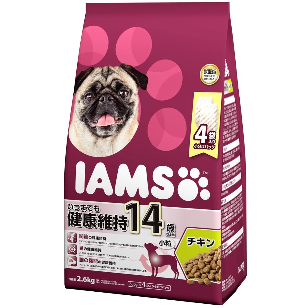 アイムス 14歳以上用 いつまでも健康維持 チキン 小粒 2.6kg