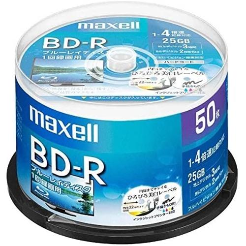 マクセル 録画用BD−R BRV25WPE.50SP