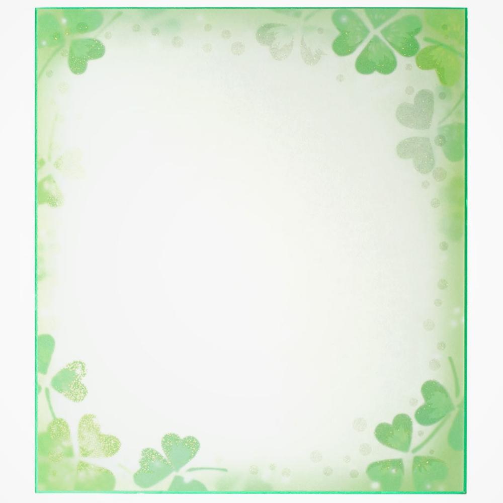 カラー色紙 ラメクローバー 33116006