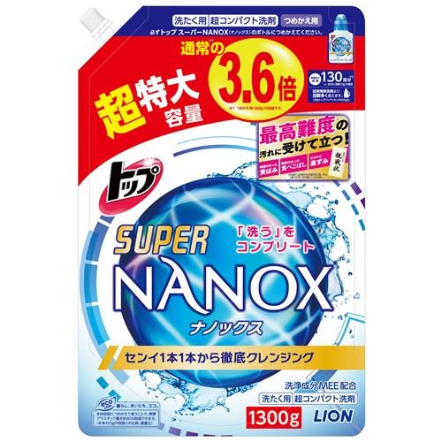 トップスーパーNANOX つめかえ用超特大 1300g